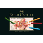 Faber-Castell Polychromos Artists Pastel: Cardboard Box of 36