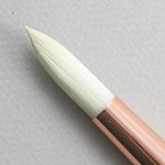 Chungking Hog Bristle 1300: Round Size 8 Brush