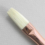 Chungking Hog Bristle 1330: Flat Size 6 Brush