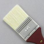 Hog Bristle Series 200: Wide Flat Size 40 Brush