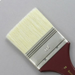 Hog Bristle Series 200: Wide Flat Size 70 Brush