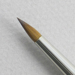 Pure Red Sable 5011: Spotting Round Size 5 Brush
