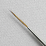 Pure Red Sable 5053: Script Liner Size 1 Brush
