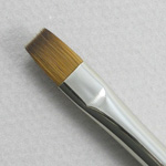 Pure Red Sable 5105: Bright Size 8 Brush