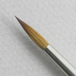 Pure Red Sable 5105: Round Size 10 Brush
