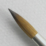 Pure Red Sable 5105: Round Size 18 Brush