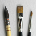 Apprentice Set of 3 Art Brushes