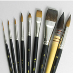 Inspiration Set of 9 Art Brushes