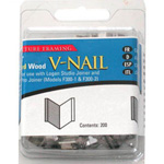 "Logan 1/4"" (7mm) V-Nail Hard, 4 Packs: 800 V-Nails"