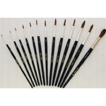 Mack Camel Hair Watercolor Brushes Series 970: Size-9