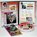 Bob Ross DVD Wildlife Painting: Jaguar, 40 Minute