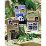 Bob Ross DVD: Wildlife Painting G.S. Panda & Jaguar, 3 Disc Set (2.6 Hour)