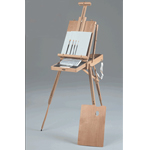 Rivera Sketch Box Easel Watercolor Painting Kit: Model # 63-AB30333