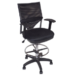 Martin Comfort Mesh Drafting High Chair: Model # 91-02406115