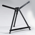 Angelina Aluminum Table Top Easel: Black, Model # 92-AE010