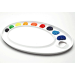 Mijello Ellipse XL Peel-Able Palette: Model # 92-AP3079