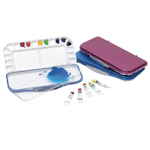 Mijello Airtight Watercolor Palette: Blue