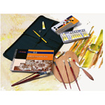 Martin Museum Complete Acrylic Media Art Kit: Model # AS-CF-29