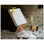 Mario's Deluxe Acrylic Art Kit: Model # AS-HBX-9