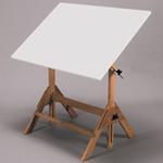 "Martin Royal Elm Table with 30"" x42"" Top: Model # U-7200C"