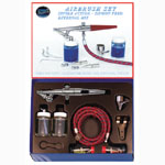 Paasche Model H-202S Airbrush with Chrome Plated Brass Handle Set
