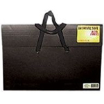 "Star® Sable Portfolio 20"" x 26"": Black/Gray, 2"", Sable, 20"" x 26"", (model S26H-BLK), price per each"