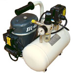 Silentaire Sil-Air 50-6 Silent Running Airbrush Compressor