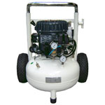 Silentaire Val-Air 50-T Aire Silent Running Airbrush Compressor: Oil Lubricated