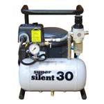 Silentaire Super Silent 30-TC Silent Running Airbrush Compressor