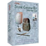 Sculpture House Stone Carving Kit: Starter Set