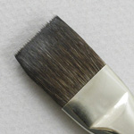 Siberian Blue Squirrel 2001: Bright Size 6 Brush