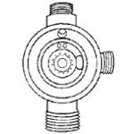 Paasche Atomizing Air Dial Control Fluid Body: Standard