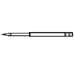 Paasche A-AU-2-29/32 Needle
