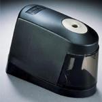 Stanley® Battery Pencil Sharpener: Black/Gray, One, Plastic, Electric, (model 02697), price per each
