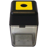 M + R Single-Hole Plastic Sharpener: Assorted, One, Plastic, Manual, (model 0915), price per each