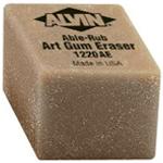 "Alvin® 1"" x 1"" x 3/4"" Art Gum Erasers 24/Box: Gum, 24-Box, Manual, (model 1220AE), price per 24-Box box"