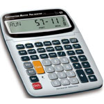 Calculated Industries® Construction Master® Pro Desktop Calculator: Calculator, (model CA231), price per each