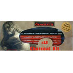General's® Charcoal Kit: Black/Gray, White/Ivory, 2B, 4B, 6B, HB, Pencil, Stick, Compressed, (model G15), price per set