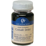 Grumbacher® Cobalt Drier: Bottle, 2.5 oz, Alkyd, (model GB5942), price per each