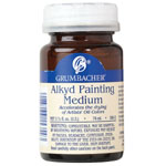 Grumbacher® Alkyd Painting Medium; Format: Bottle; Size: 2.5 oz; Type: Alkyd; (model GB5802), price per each