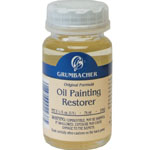 Grumbacher® Oil Paint Restorer; Format: Bottle; Size: 2.5 oz; Type: Oil; (model GB5782), price per each