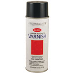 Grumbacher® Retouch Varnish Spray 11oz; Format: Bottle; Size: 11 oz; Type: Varnish; (model GB544), price per each