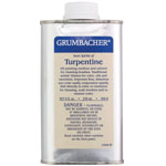 Grumbacher® Turpentine 8oz: Can, 8 oz, Solvents, (model GB5688), price per each