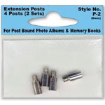 Pioneer® Extension Post Set: 8 mm, Extension Post, (model P2), price per pack