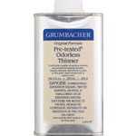 Grumbacher® Pre-Tested® Odorless Paint Thinner 8oz; Format: Can; Size: 8 oz; Type: Solvents; (model GB5658), price per each