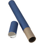 "Alvin® Blue Fiberboard Tube 2 1/2"" I.D. x 43""; Color: Blue; Material: Fiberboard; Size: 2 1/2"" x 43""; (model T413-43), price per each"
