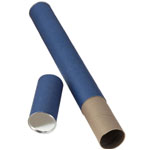 "Alvin® Blue Fiberboard Tube 2 1/2"" I.D. x 31""; Color: Blue; Material: Fiberboard; Size: 2 1/2"" x 31""; (model T413-31), price per each"