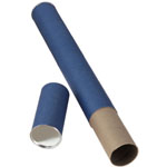 "Alvin® Blue Fiberboard Tube 2 1/2"" I.D. x 25""; Color: Blue; Material: Fiberboard; Size: 2 1/2"" x 25""; (model T413-25), price per each"