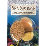 Hydra® Natural Sea Sponge Variety Pack; Material: Natural; Type: Sponge; (model SS4P), price per pack