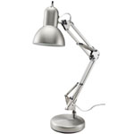 "Alvin® Architect Desk Lamp; Color: Metallic; Shade Size: Under 10""; Type: Desk; Wattage: 26-75w; (model FD206ST), price per each"